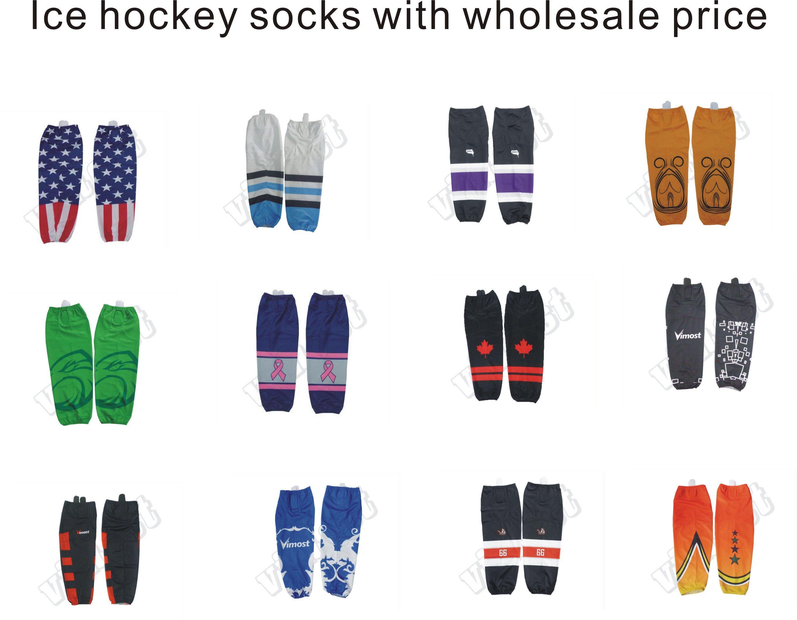 Custom sublimation ice hockey socks - Hoysports com