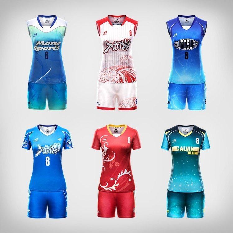 bae9075388b8f custom sublimation womens volleyball jerseys - Hoysports.com