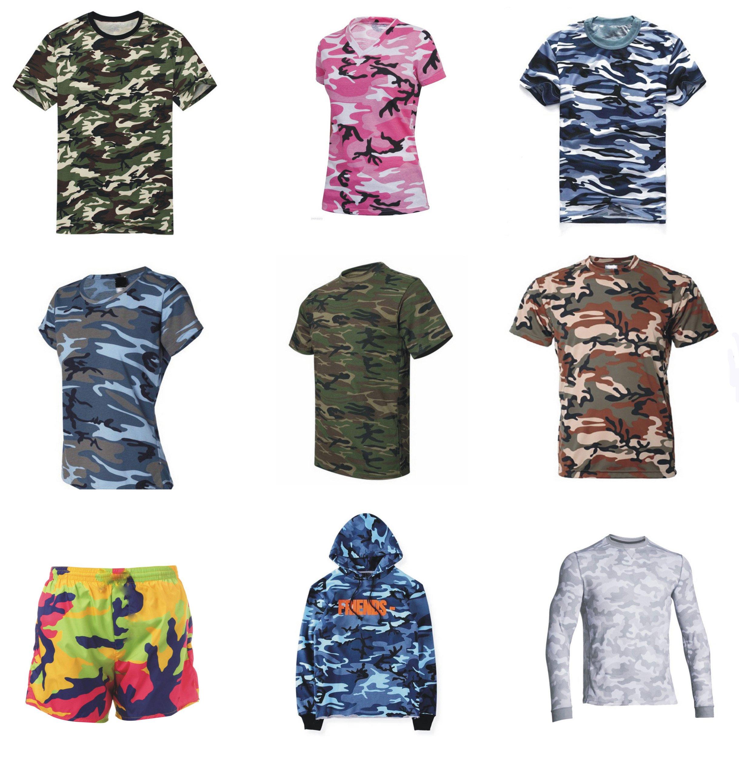 2d928c75cdb Home Products Teamwear Tshirts Custom Sublimation Camo Shirts Design.   