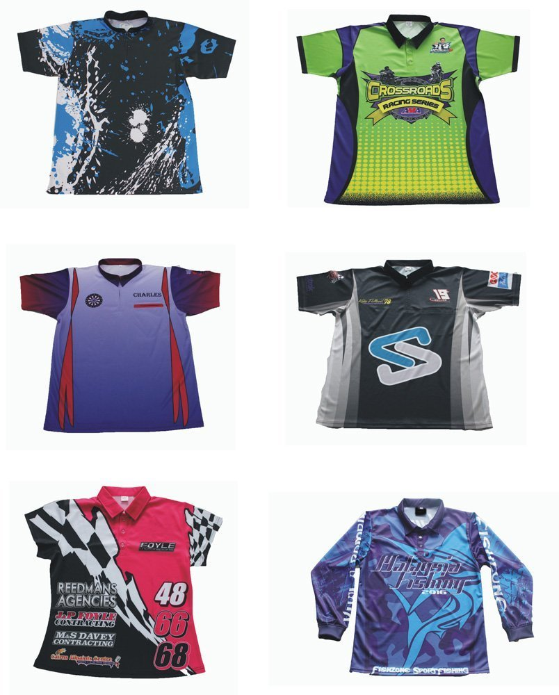 Custom breathable polo shirts with sublimation printing with free ... 5febcb838